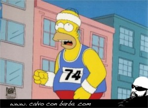 Homer Running _001