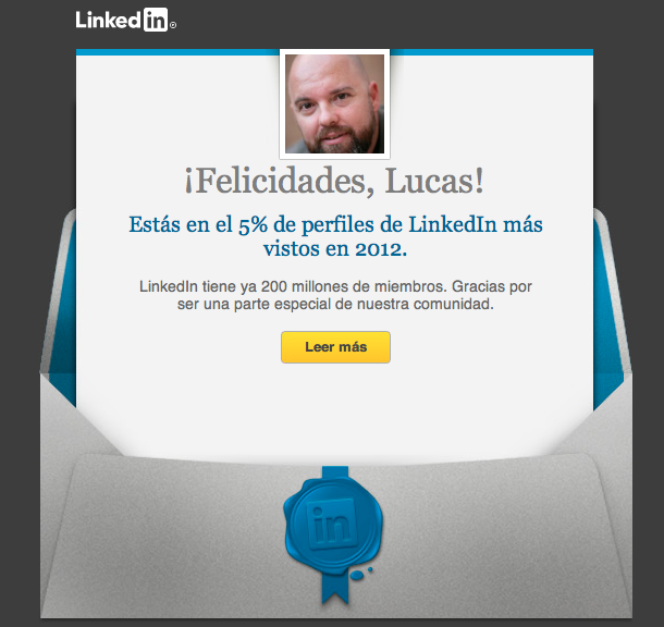 email campaña LinkedIn