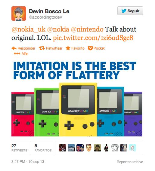 Nintendo vs Nokia