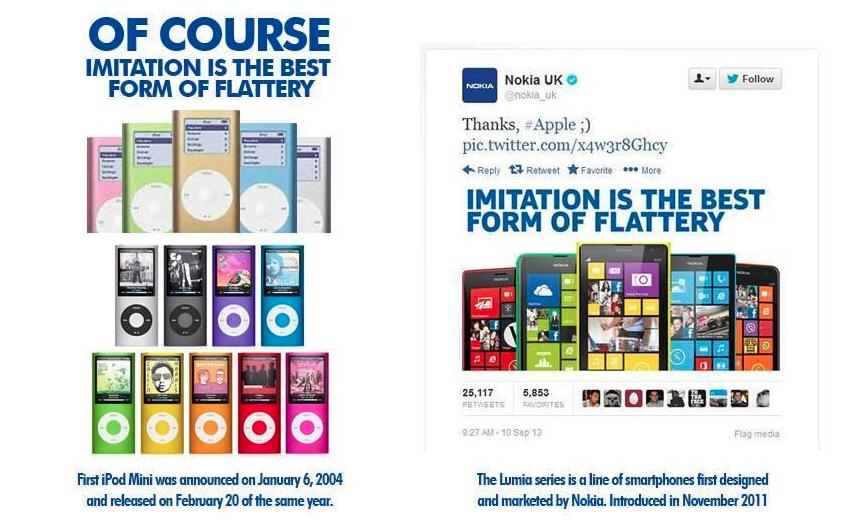 iPod colors vs Nokia colors